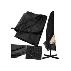 KESSER Sonnenschirm-Schutzhülle, Schutzhülle Schirmhaube Plane Abdeckung Sonnenschirm Schutzhülle Haube 3m Ø