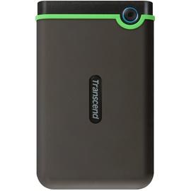Transcend StoreJet 25M3 1TB USB 3.1 grau/grün (TS1TSJ25M3S)