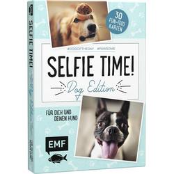 Selfie Time! Dog Edition - 30 Fun-Fotokarten