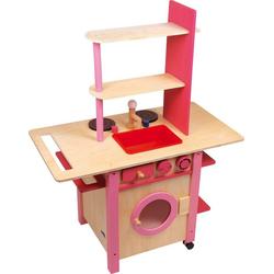 Legler Kinder-Küchenset Kinderküche All in one rosa