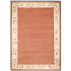 Orientteppich Noblesse Vario 55, OCI DIE TEPPICHMARKE, rechteckig, Höhe 12 mm, handgeknüpft rosa 70 cm x 140 cm x 12 mm
