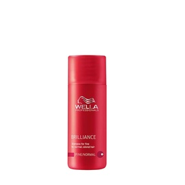 Wella professionals brilliance shampoo fur feines gefarbtes haar