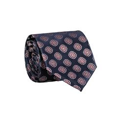 Lavard Krawatte mit Blumenmotiv 57256