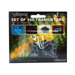 Velleman Transistoren-Set K/TRANS1, 100 teilig