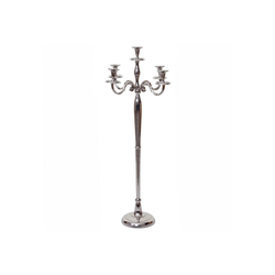 MCW Kerzenleuchter MCW-D81-118, Massiv, Tropfschutz für Kerzenwachs, Mit stabilem Standfuß