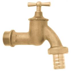 GEKA Wasserhahn 12 MS Cr matt mit Verschraubung VE 10 Stück 36.2121.9