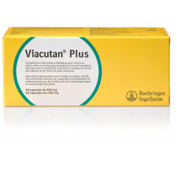 Viacutan Plus Capsules voor hond en kat  120 capsules
