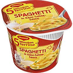 Maggi Nudeltopf Spaghetti Käse Sahne-Sauce 8 Stück