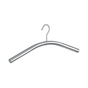 WENKO Dry Kleiderbügel, Edelstahl, Für Mäntel, Jacken, Sakkos, T-Shirts, Hemden, Blusen und Pullover, Maße: 45 cm