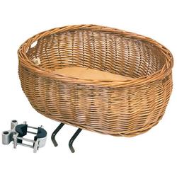 Basil Fahrradkorb Weidenkorb Basil Pluto, braun