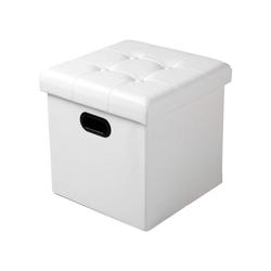 Woltu Sitzhocker, Sitzhocker Sitzwürfel Aufbewahrungsbox Hocker