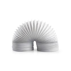 nedis Klimaanlagenschlauch für: Air Ventilation / Tumble Dryers, Weiss 300 cm
