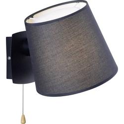 Paul Neuhaus MIRIAM 9539-18 Wandleuchte E27 60W LED Schwarz