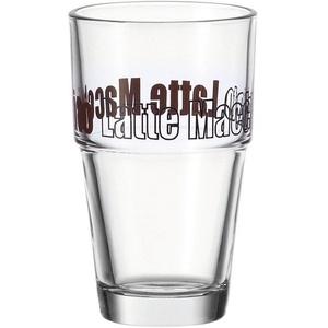 LEONARDO Latte-Macchiato-Glas Solo (6-tlg), 410 ml
