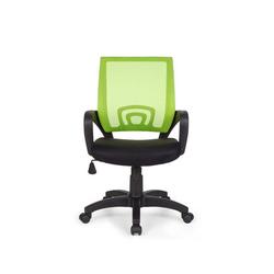 Amstyle Drehstuhl SPM1.076, Bürostuhl RIVOLI Lime Schreibtischstuhl mit Armlehne Bürodrehstuhl Jugendstuhl