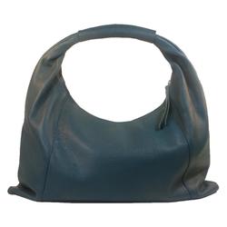 Eastline Handtasche, echtes Leder blau