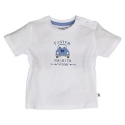 SALT AND PEPPER Boys T-Shirt Wohnwagen white
