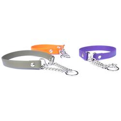DOGSCODE Tier-Halsband, Beta Biothane, Profi-Ausrüstung lila 1.6 cm x 35 cm