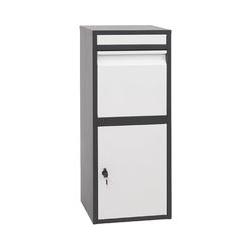 Paketkasten HHG-092, Paketbox Standbriefkasten Paketbriefkasten Briefkasten ~ verzinkt