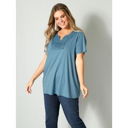 Shirt Janet & Joyce Jeansblau