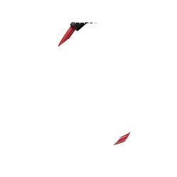 TRELOCK K 2 60/10 Kombi Red Fahrradschloss (60 cm lang / 10 mm stark, Rot)