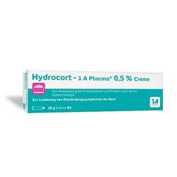 HYDROCORT-1A Pharma 0,5% Creme 20 g