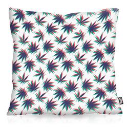 Kissenbezug, VOID, Hanf Stereo Outdoor Indoor cannabis marihuana haschisch jamaika dope 80 cm x 80 cm
