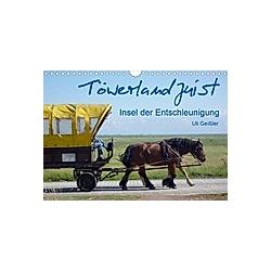 Töwerland Juist (Wandkalender 2021 DIN A4 quer)