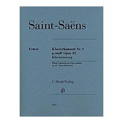 Klavierkonzert Nr. 2 g-moll op. 22  2 Klaviere zu vier Händen  Klavierauszug. Camille - Klavierkonzert Nr. 2 g-moll op. 22 Saint-Saëns  - Buch