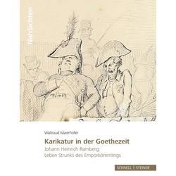 Karikatur in der Goethezeit als Buch von