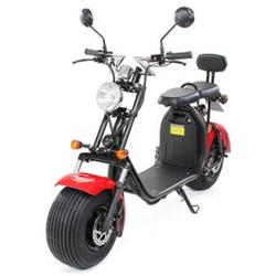 eFlux Harley Two Elektro Scooter mit Straßenzulassung 1500 Watt 60 Volt rot