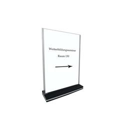 HTI-Line Bilderrahmen Tischaufsteller A3 Hochformat, Aufsteller