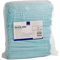 ZAHNARZT Lätze 41x45 cm blau 125 St
