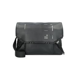 Piquadro Messenger Bag Kyoto, Leder schwarz