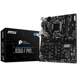 MSI B360-F PRO ATX Mainboard Sockel Intel® 1151 Formfaktor ATX Mainboard-Chipsatz Intel® B360