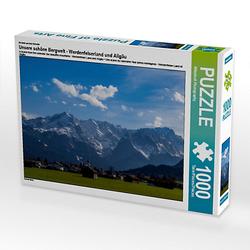 Unsere schöne Bergwelt - Werdenfelserland und Allgäu Lege-Größe 64 x 48 cm Foto-Puzzle Bild von WilmAndi Photography Puzzle