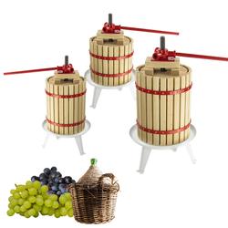Obstpresse Beerenpresse BP 6 / 12 / 18 Liter Saftpresse Weinpresse Preße Obst, Fassungsgröße: 6 Liter