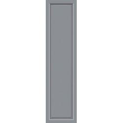 KM Zaun Türseitenteil S04, für Alu-Haustür, grau