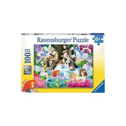 Ravensburger Puzzle Puzzle, 100 Teile XXL, 49x36 cm, Magische, Puzzleteile