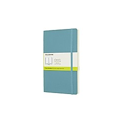 Moleskine Reef Blue Notebook Large Plain Soft. Moleskine  - Buch
