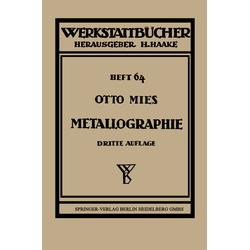 Metallographie als Buch von Otto Mies