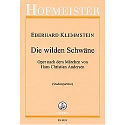 Die wilden Schwäne  15 Gesangssolisten  Orchester  Studienpartitur. Eberhard Klemmstein  - Buch