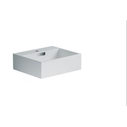 Lineabeta Keramikbecken Waschbecken 42cm weiß matt, 53708.26