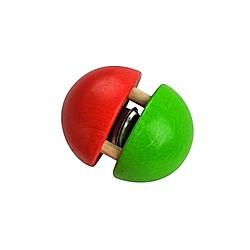 Kugel-Glöckchen (rot/grün)