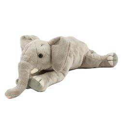 Teddys Rothenburg Kuscheltier Elefant liegend 25 cm (Stoffelefant Plüschelefant, Plüschtiere Elefanten Stofftiere)