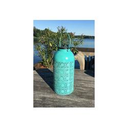 HTI-Living Laterne Solarlaterne Blue