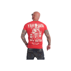 YAKUZA T-Shirt Hey Satan rot XL