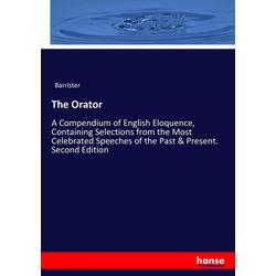The Orator als Buch von Barrister