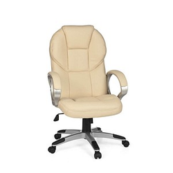 AMSTYLE Matera Chefsessel beige