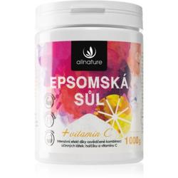 Allnature Epsomská sůl Vitamin C Badesalz 1000 g